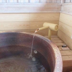 【温泉】部屋付き露天風呂は、こんな感じ★ペットOKの旅館『花小町』